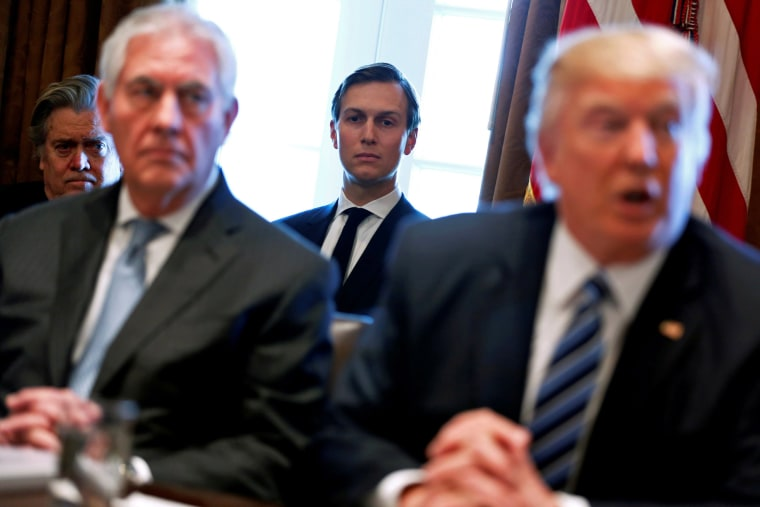Image: FILE PHOTO: Jared Kushner attends Trump cabinet meeting at the White House in Washington
