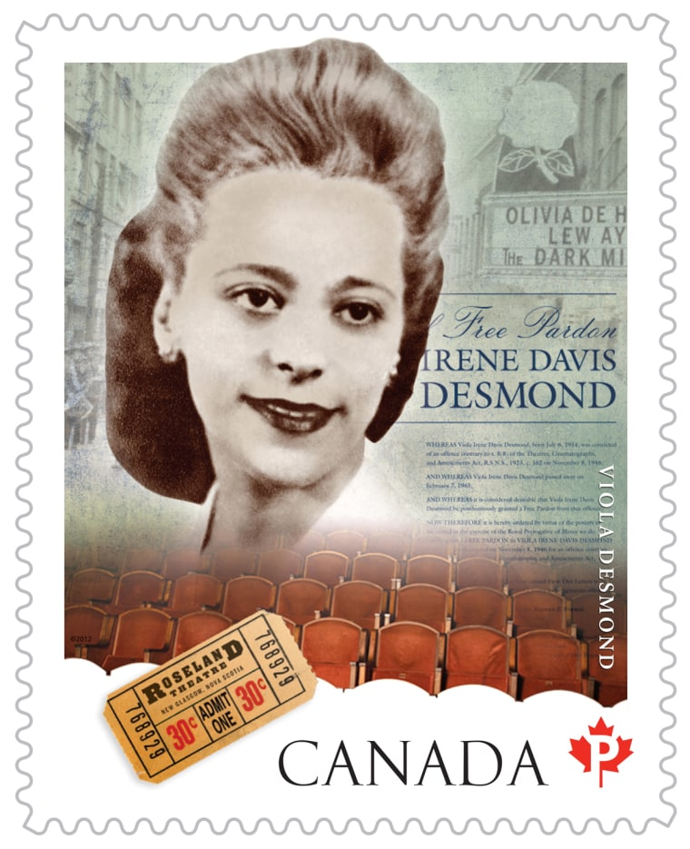 "Known as ""Canada's Rosa Parks,""  Viola Desmond will be the first woman other than the Queen to be featured on Canadian currency"