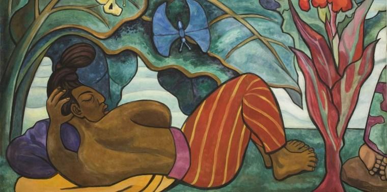 Juchitan River (Rio Juchitan) Panel 4, 1953-1955