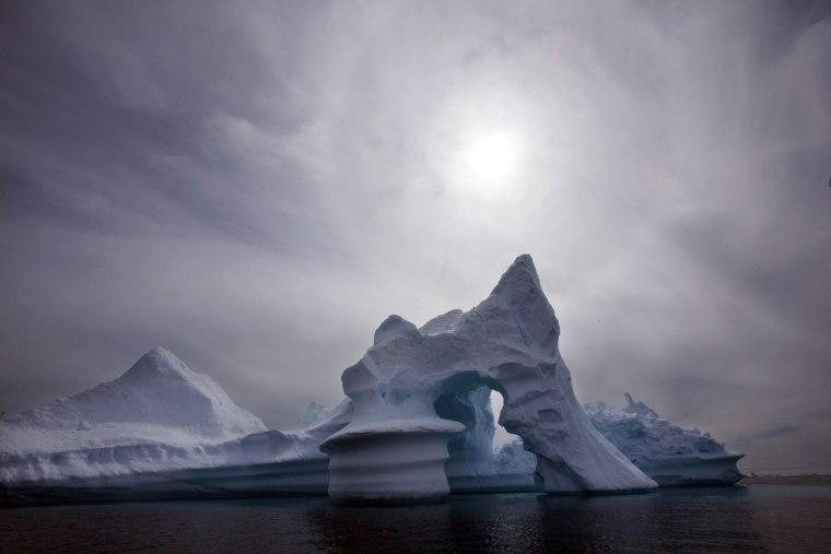 Image: Greenland, runaway melt