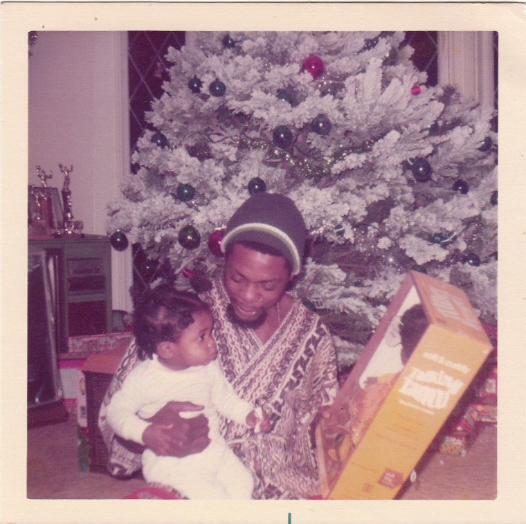 Myiesha and her late father Dwight Taylor
