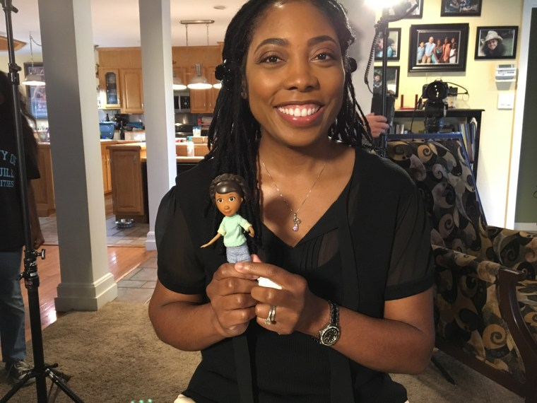 Dr. Myiesha Taylor and Artemis Society's work with Disney Junior has been so strong, that when it came time for show creator to give Doc's Mom, Dr. McStuffins, a first name, she named her Myiesha.
