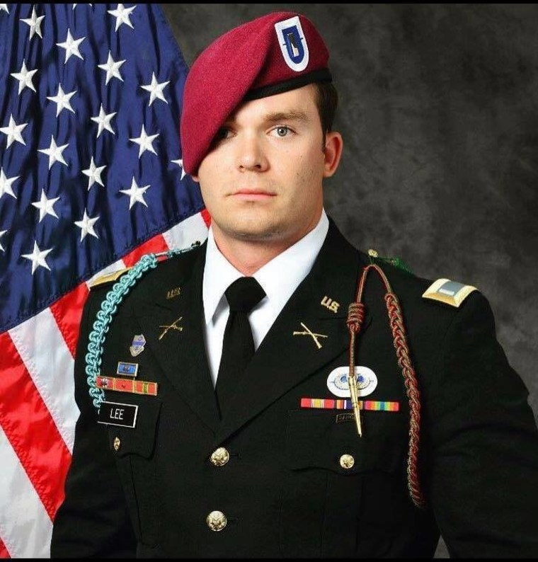 1st Lt. Weston Lee.