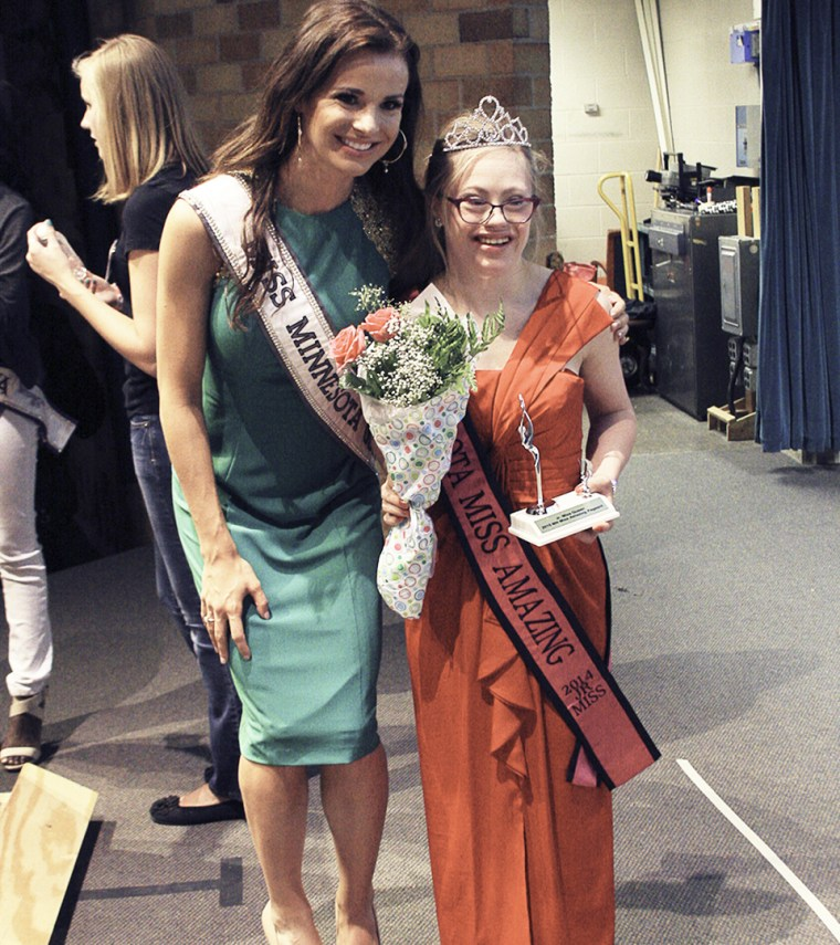 Down's syndrome dancer Mikayla Holmgren enters Miss USA pageant