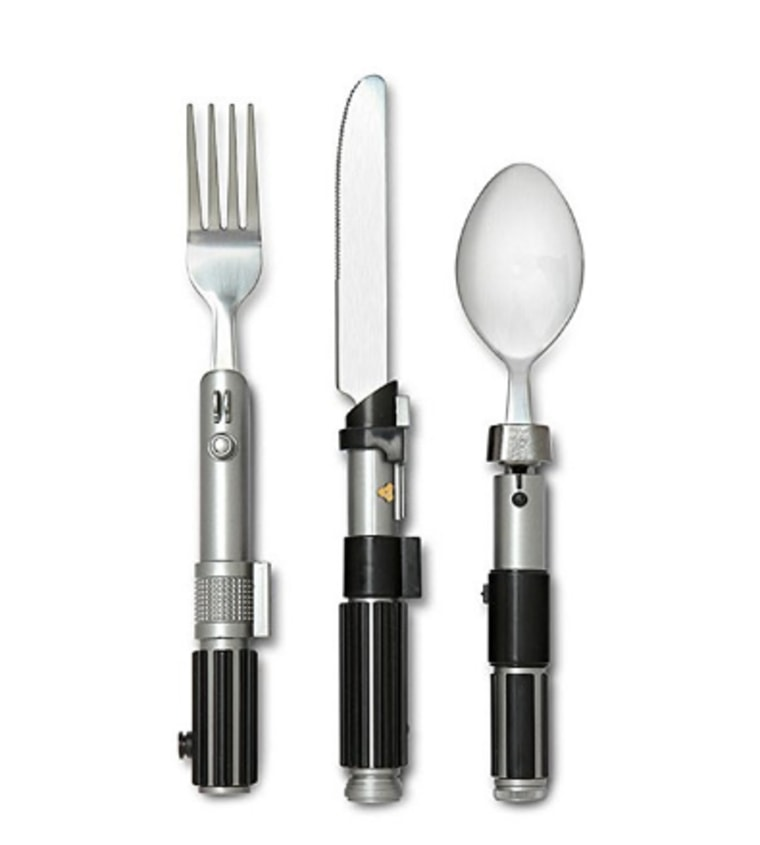 Star Wars Lightsaber Flatware Utensil Set