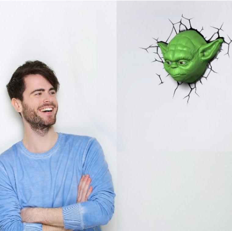Star Wars 3D Wall Nightlight - Yoda