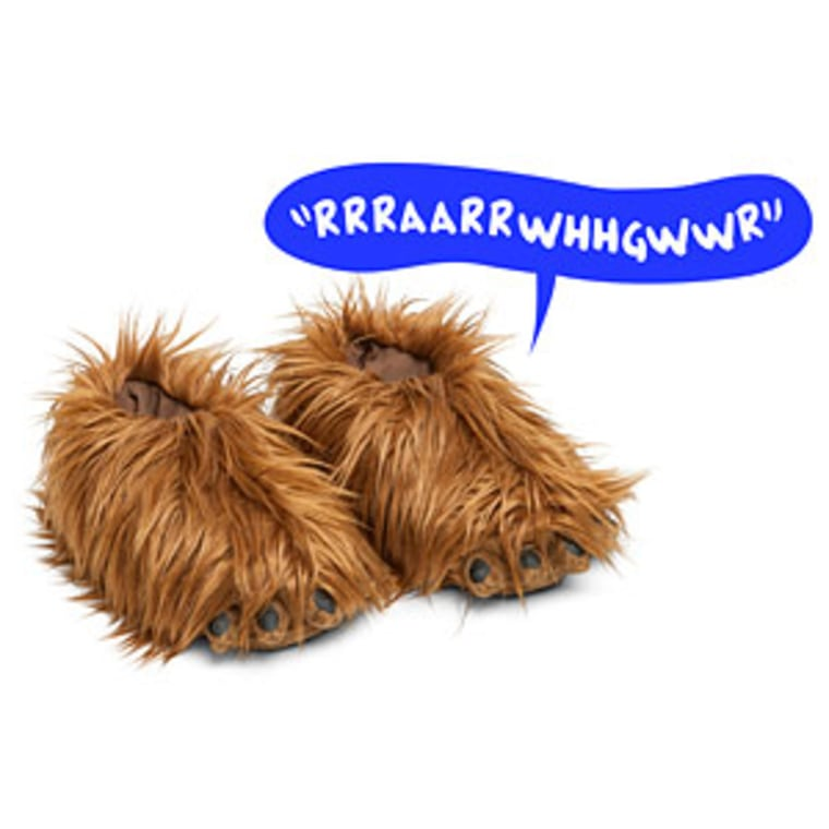 Star Wars Chewbacca Slippers with Sound
