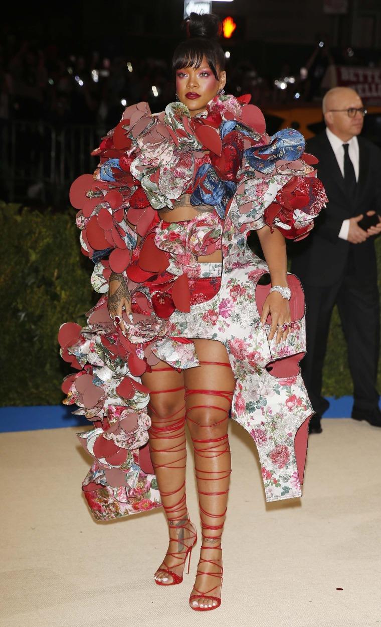 Image: Metropolitan Museum of Art Costume Institute Gala - Rei Kawakubo/Comme des Garcons: Art of the In-Between - Arrivals