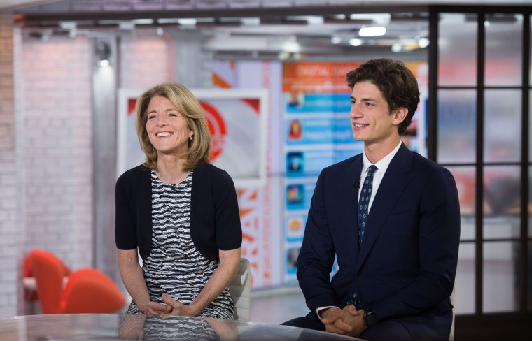 Caroline Kennedy and her son, Jack, on TODAY