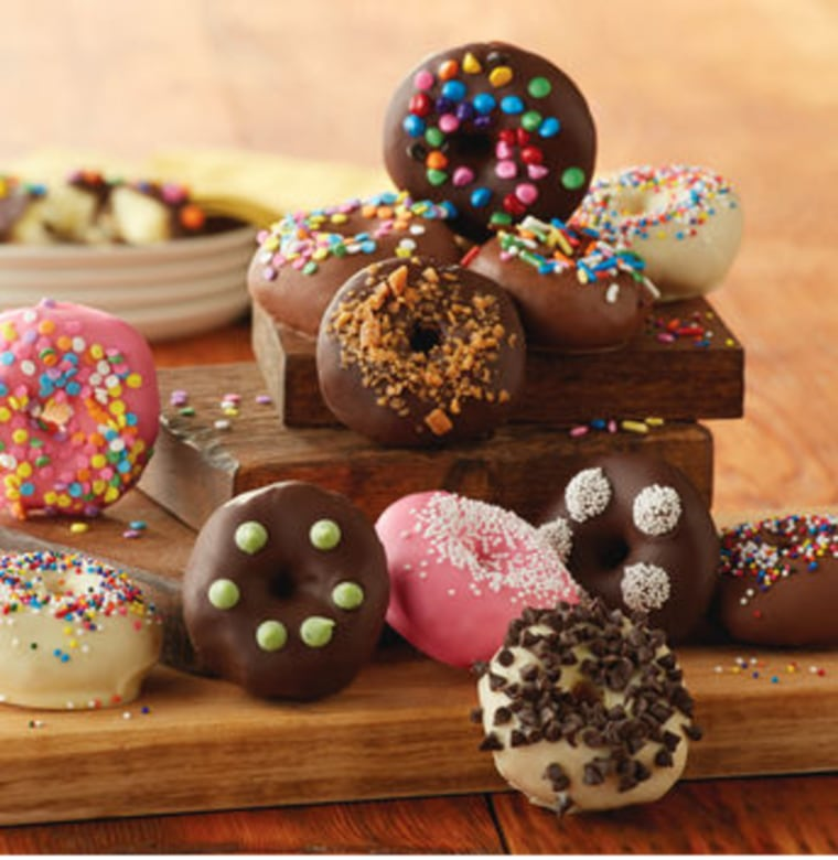 Chocolate Dipped Donuts