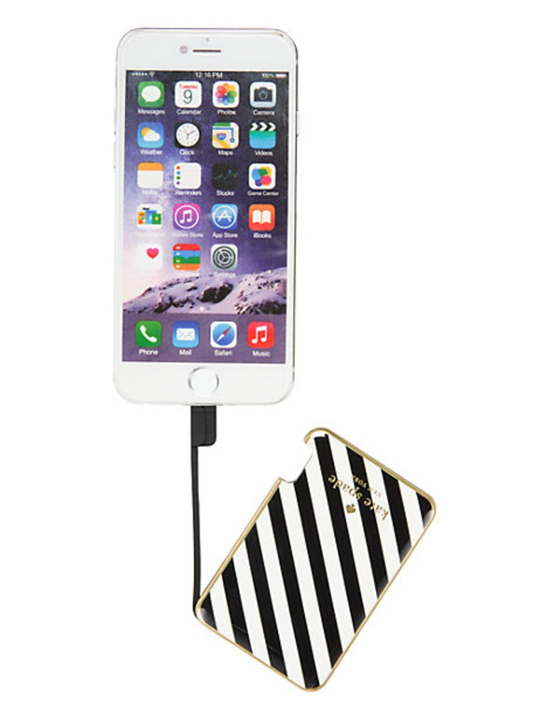 Kate Spade Battery Charger