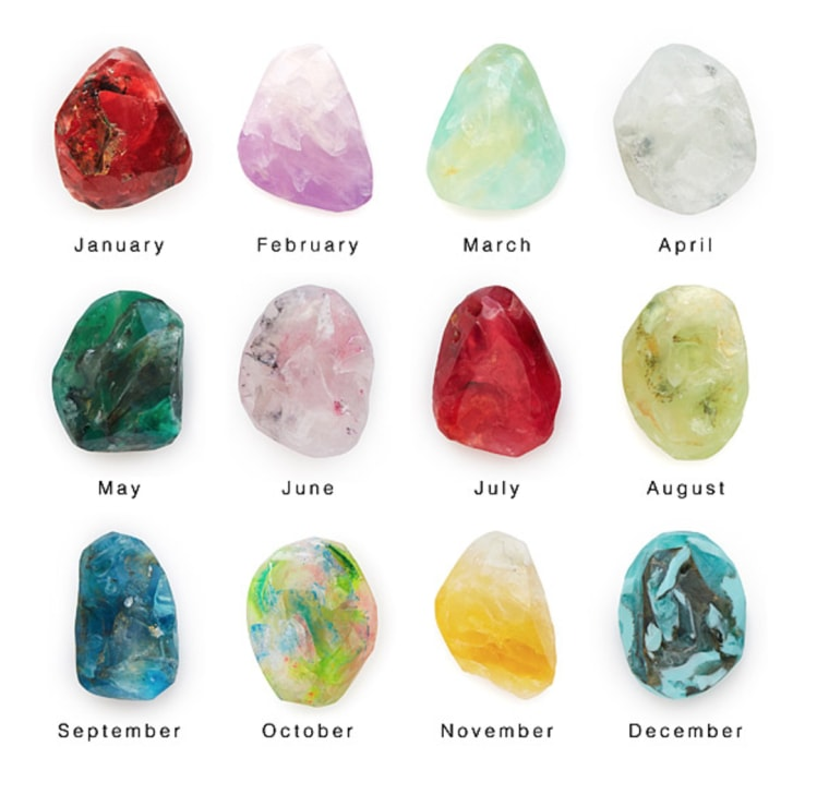 Birthstone Mineral Soaps