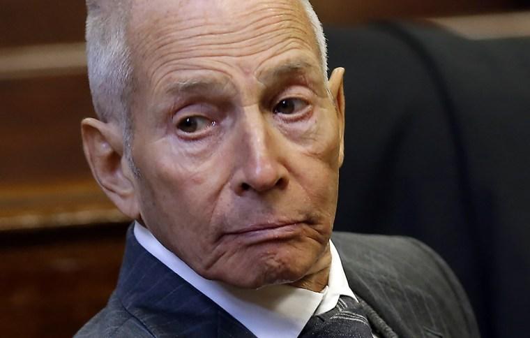 Image: Real estate heir Robert Durst appears in a New York criminal courtroom