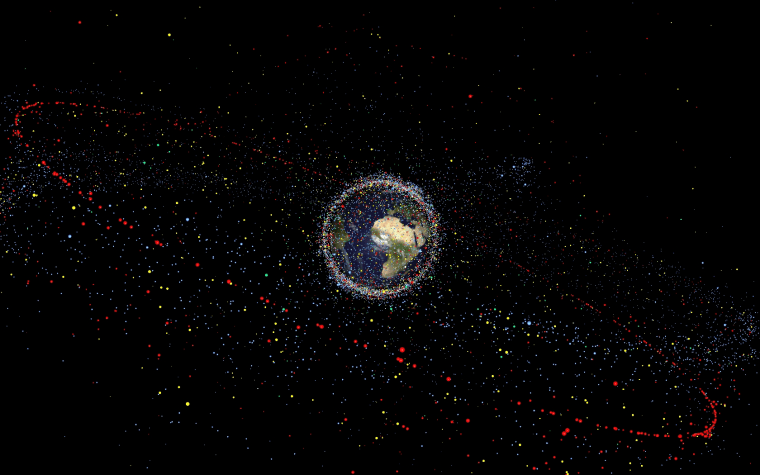 In almost 60 years of space activities, more than 5,250 launches have resulted in some 42,000 tracked objects in orbit.