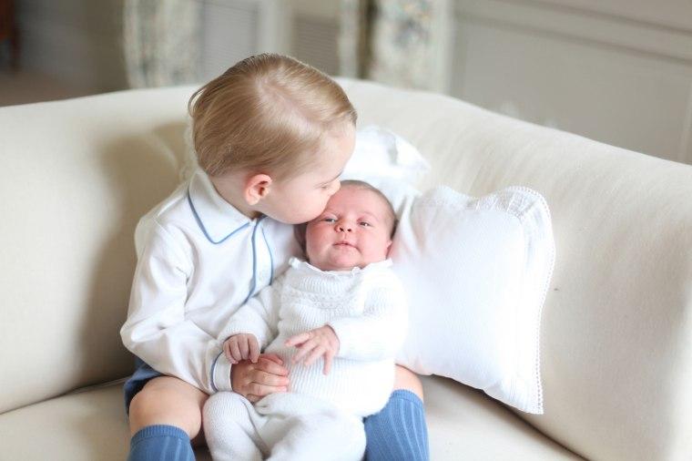 Image: Princess Charlotte's second birthday