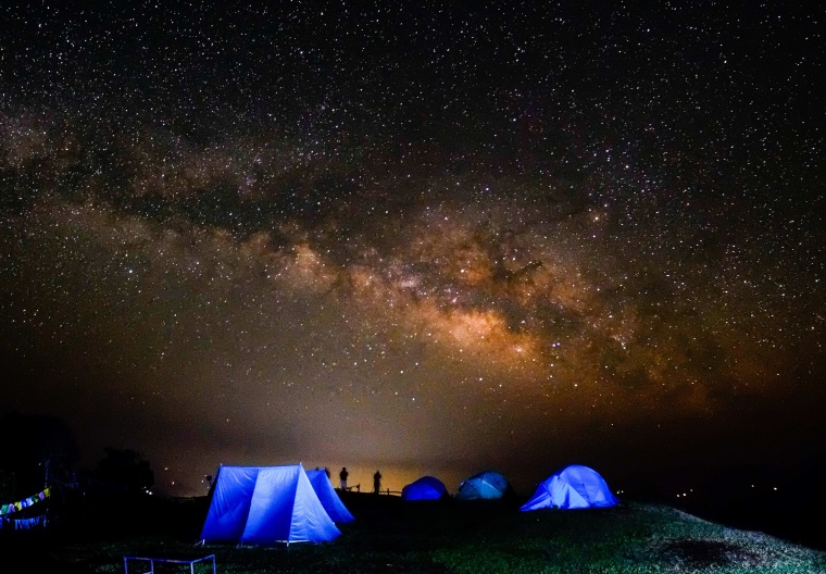 Image: Milky Way from Kaski District of Nepal