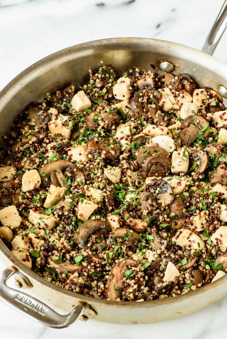 Image: Best Mushroom Chicken and Quinoa Recipe