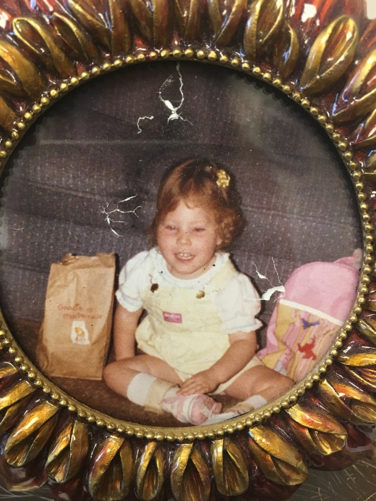 Image: Gracie MacArthur when she was a toddler