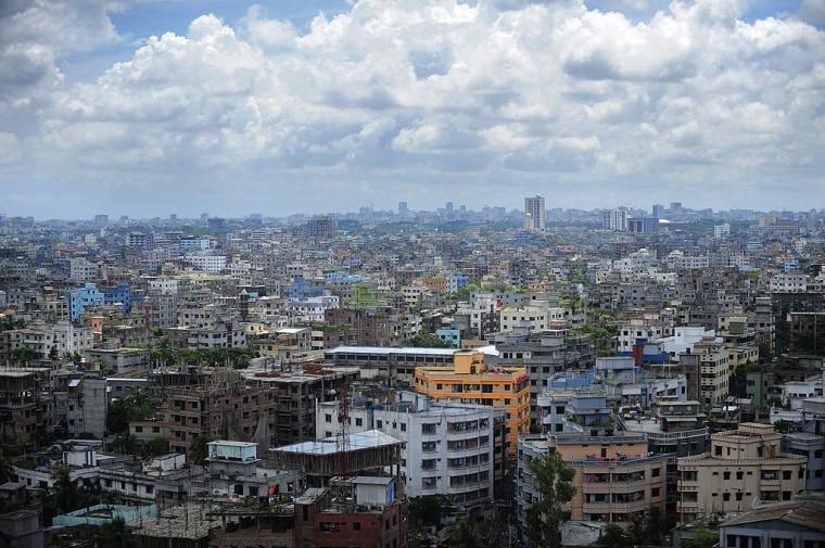 BANGLADESH-DHAKA-SKYLINE