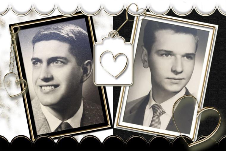 Robert Huskey, left and Jack Zawadski.