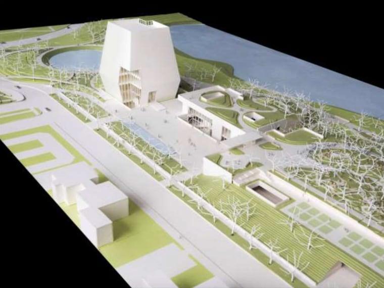 Image: Obama Presidential Museum concept