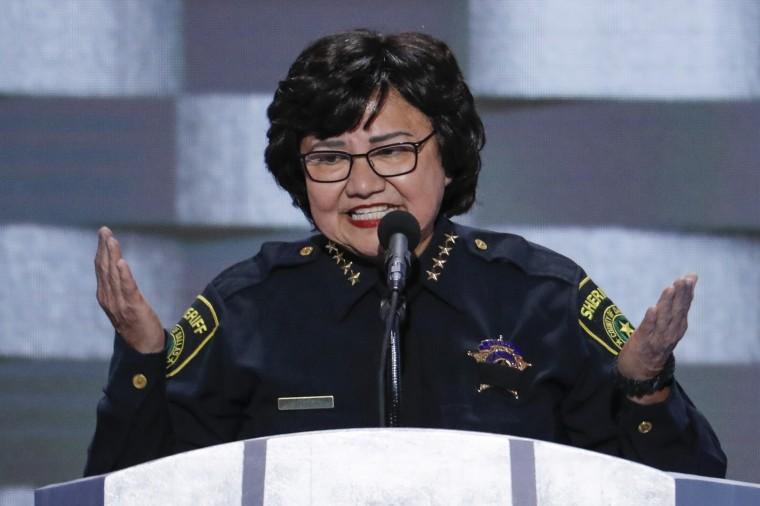Image: Dallas Sheriff Lupe Valdez