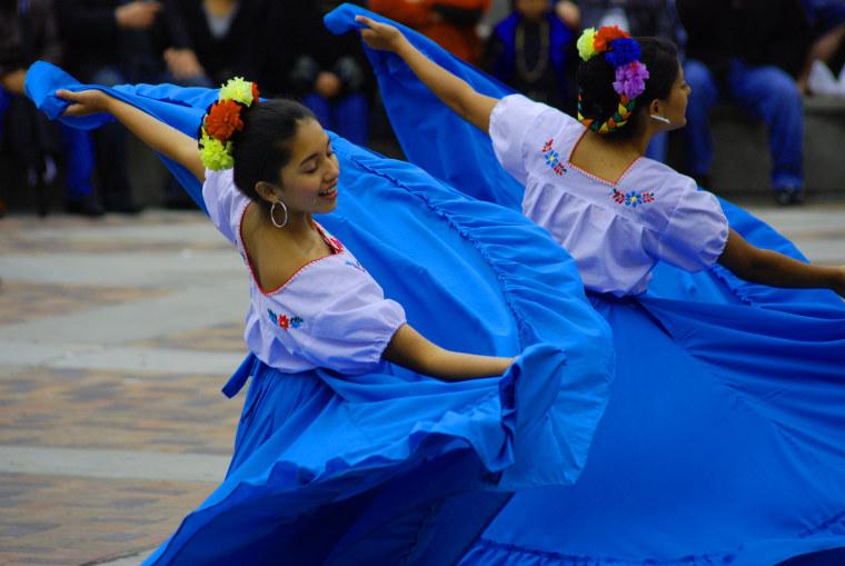 Dancers at Cinco de Mayo Denver