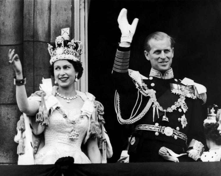Image: Queen Elizabeth II and Prince Philip