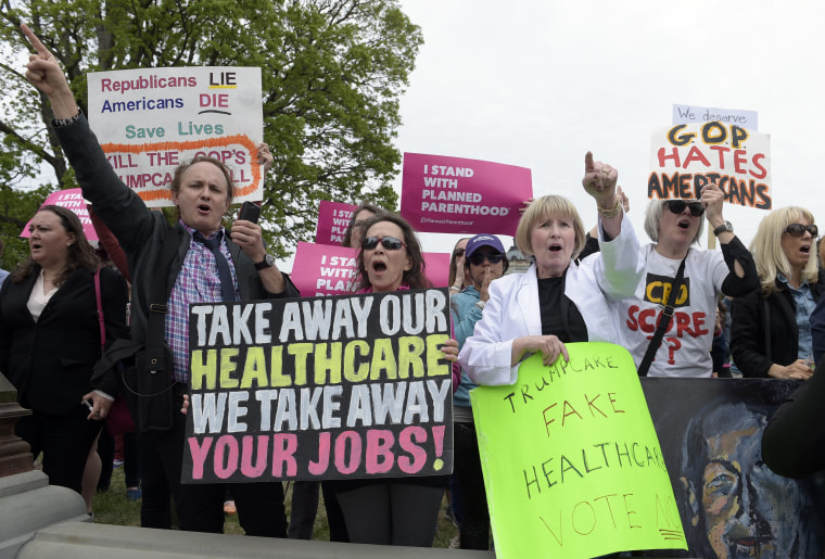 Image: Health Care Protest