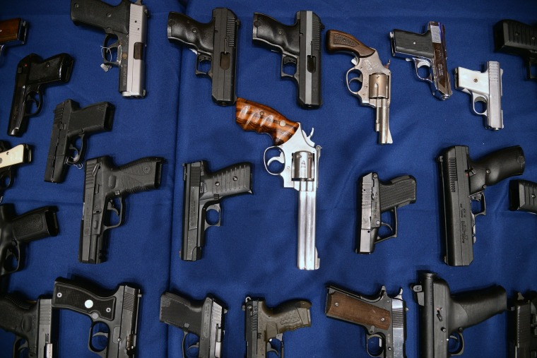 Image: NY: Largest Illegal Gun Run Bust In NYC History