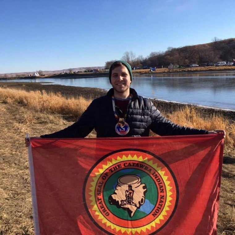 "DeLesslin ""Roo"" George-Warren at Standing Rock"