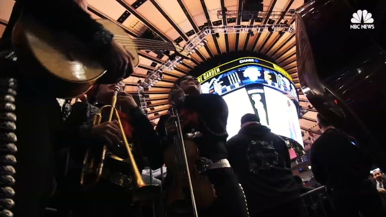 Mariachi group Flor de Toloache performs their biggest show at Madison Square Garden.