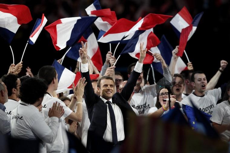Image: Macron campaign victim of hacking