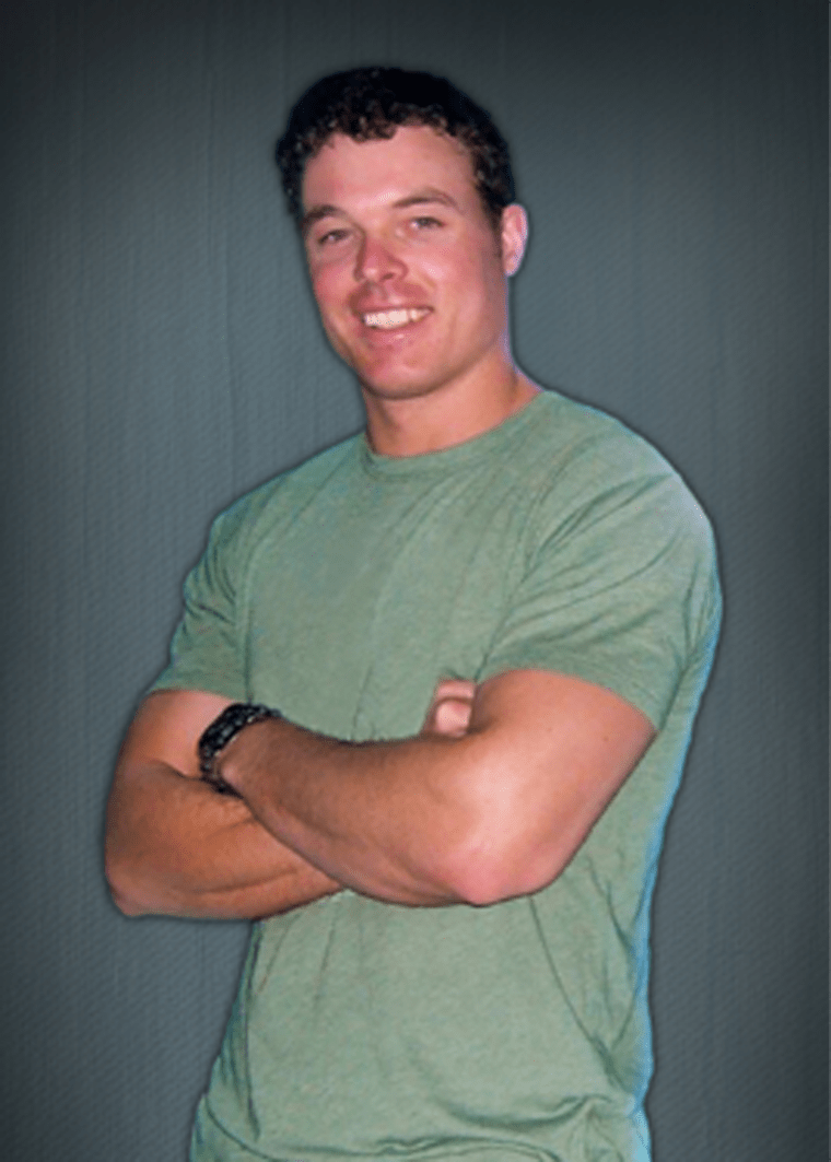 Image: Kyle Milliken, 38, of Falmouth, Maine.