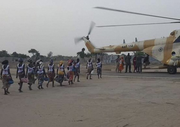 Image: NIGERIA-UNREST-BOKO-HARAM-KIDNAPPING