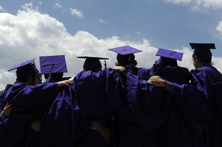 Image: Arvada West Graduates 50th Class