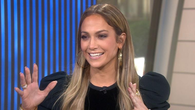 Jennifer Lopez on TODAY