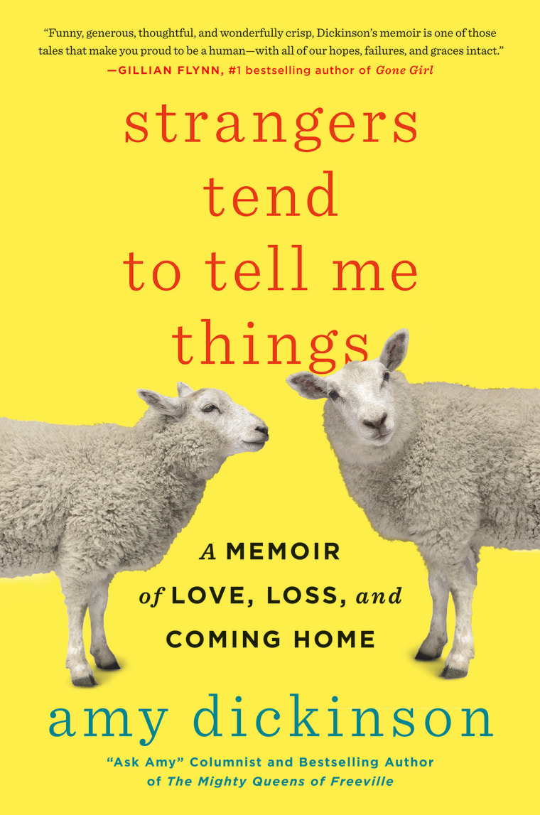 """""""Strangers Tend to Tell Me Things"""" book cover"""