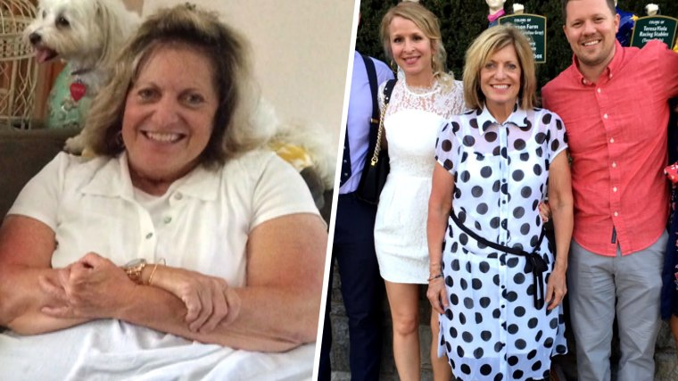 Marcie Jaworski works out six days a week and eats a healthy diet, which has helped her transform her life.