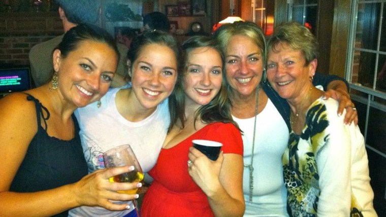 """three generations of moms answering the question """"What makes a good mother?"""" for Mother's Day"""