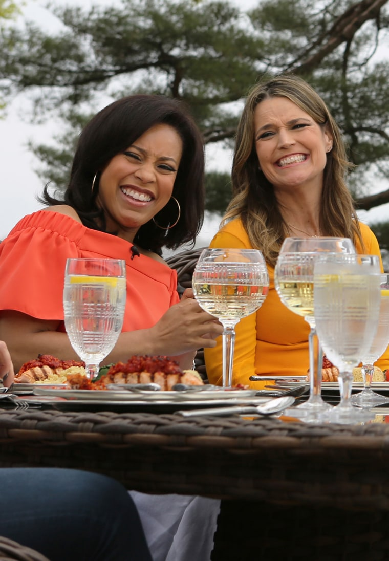 Moms of TODAY gather for lunch at Kathie Lee Gifford's house