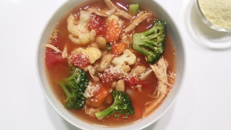 Joyful Veggie Soup