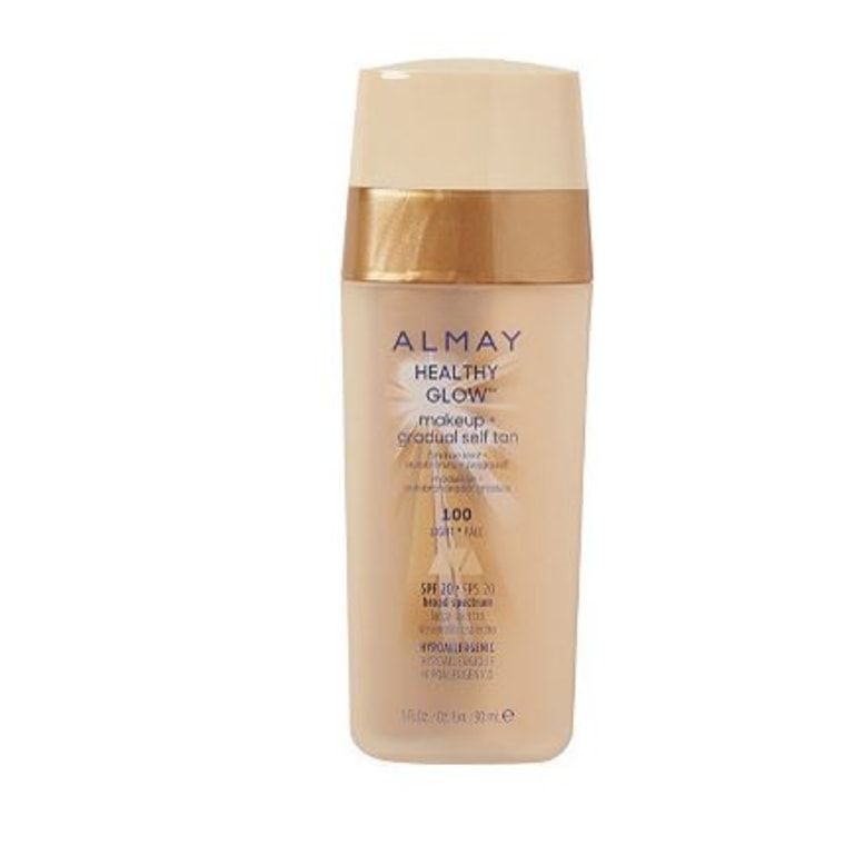 Almay Healthy Glow Makeup and Self Tan