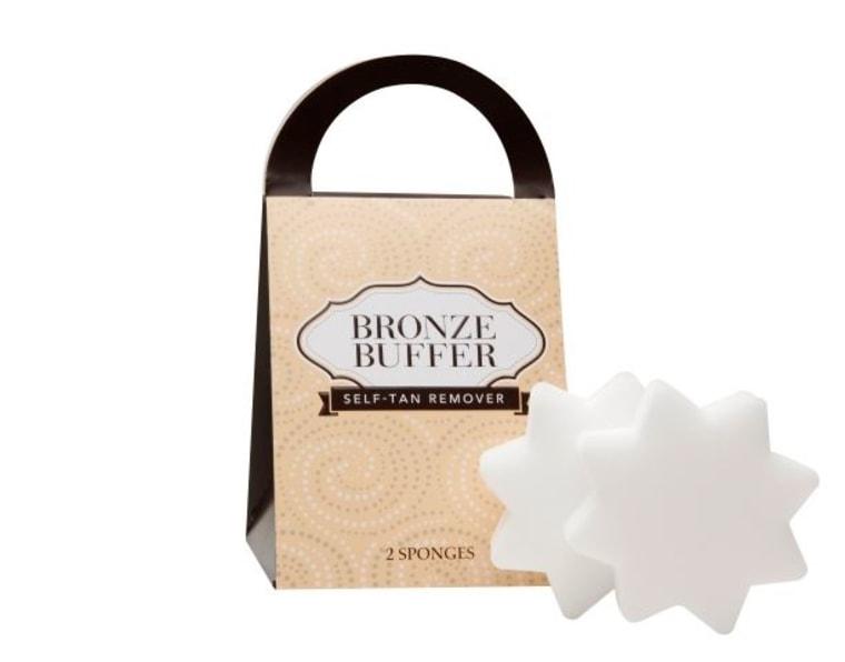 Bronzer buffer