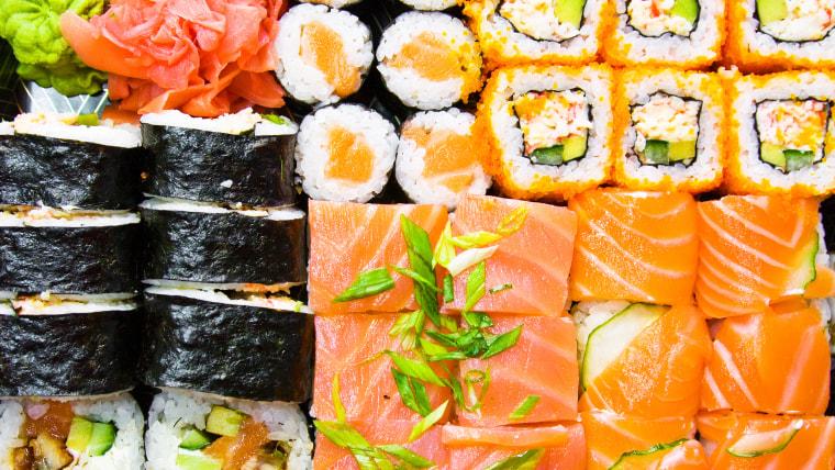 Sushi parasite