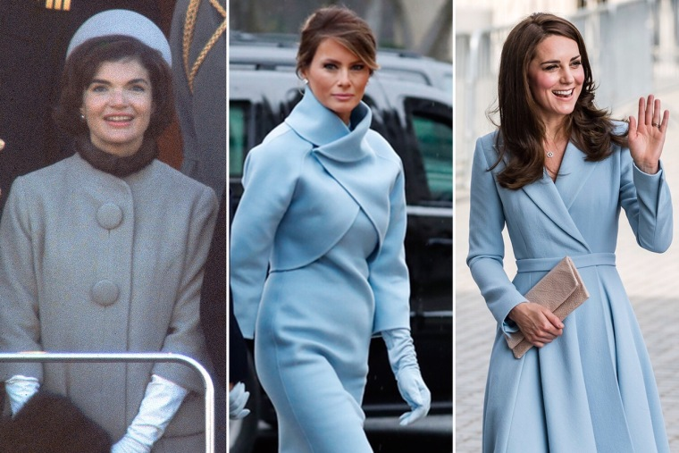 Jackie Kennedy, Melania Trump, former Kate Middleton