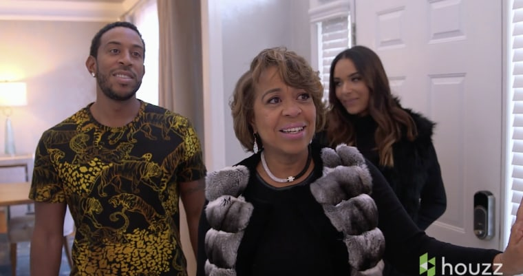 Ludacris and mom makeover