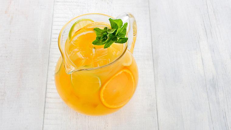 Ginger-Orange Mocktail