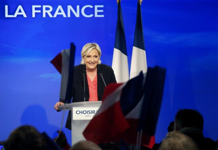 Image: Marine Le Pen won 11 million votes on Sunday