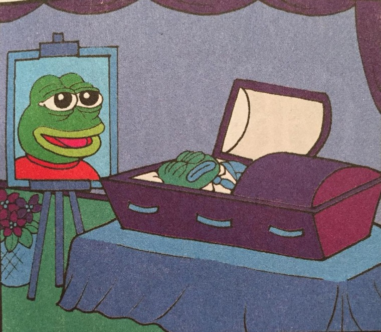 Cartoonist Matt Furie laid to rest Pepe the Frog.